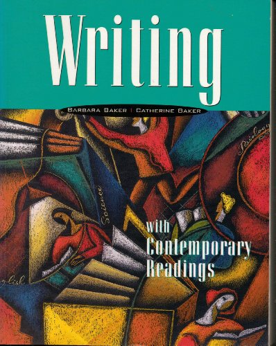 Writing with Contemporary Readings 1st 9780763802097 Front Cover