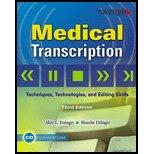 Medical Transcription (Pk W/Cd)   2009 edition cover