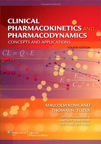 Clinical Pharmacokinetics and Pharmacodynamics Concepts and Applications 4th 2008 (Revised) edition cover