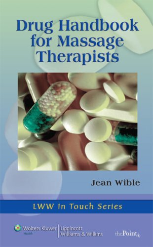 Drug Handbook for Massage Therapists   2008 edition cover
