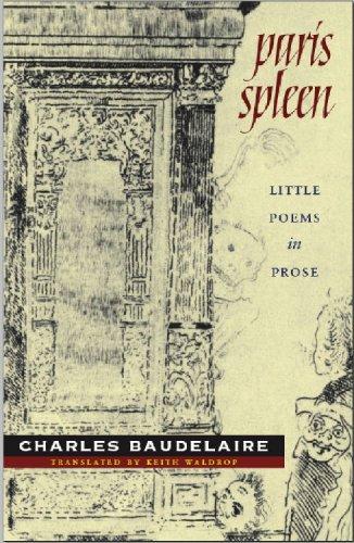Paris Spleen Little Poems in Prose  2009 edition cover