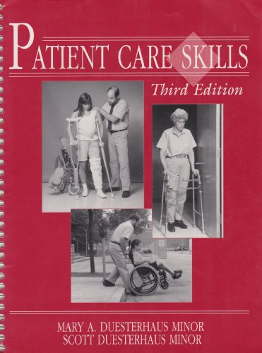Patient Care Skills  3rd 1995 edition cover
