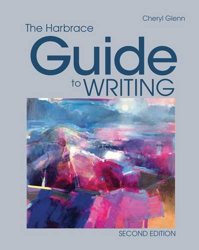 Harbrace Guide to Writing  2nd 2013 edition cover