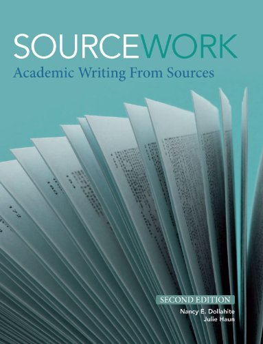 Sourcework Academic Writing from Sources 2nd 2012 9781111352097 Front Cover
