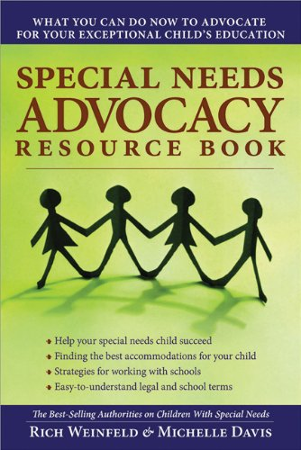 Special Needs Advocacy Resource Book What You Can Do Now to Advocate for Your Exceptional Child's Education  2008 edition cover