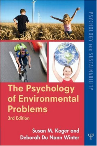 Psychology of Environmental Problems Psychology for Sustainability 3rd 2010 (Revised) edition cover