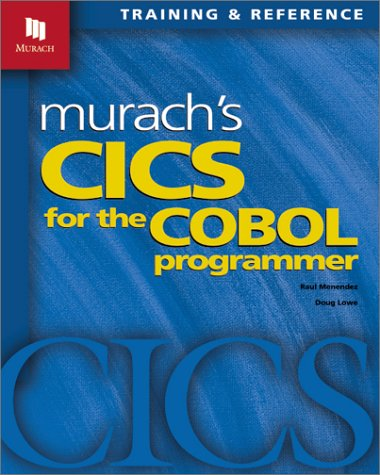 Murach's CICS for the COBOL Programmer   2001 edition cover