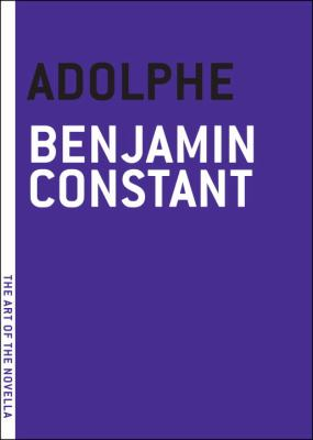 Adolphe   2010 9781935554097 Front Cover