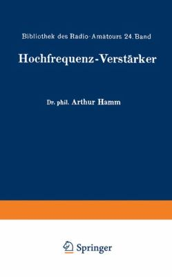 Hochfrequenz-Verst�rker   1926 edition cover