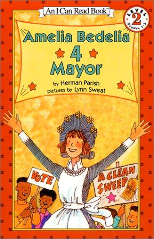 Amelia Bedelia 4 Mayor   1999 edition cover