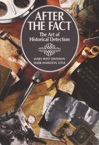 After the Fact The Art of Historical Detection 3rd 9780070156098 Front Cover