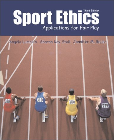 Sport Ethics Applications for Fair Play 3rd 2003 edition cover