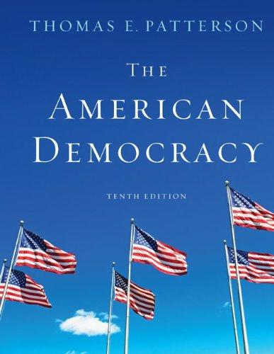American Democracy  10th 2011 edition cover