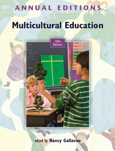Annual Editions: Multicultural Education, 16/e  16th 2012 edition cover
