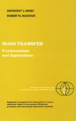 Mass Transfer Fundamentals and Applications  1985 edition cover