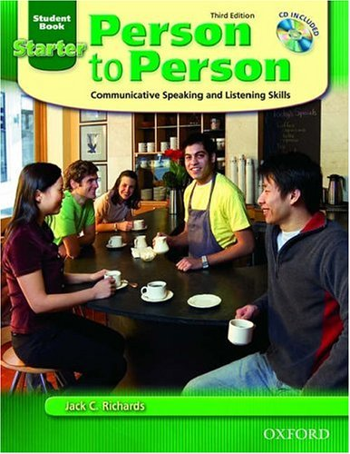Person to Person Coummunicative Speaking and Listening Skills 3rd 2005 9780194302098 Front Cover