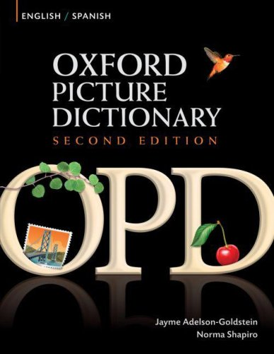 Oxford Picture Dictionary English/Spanish 2nd edition cover