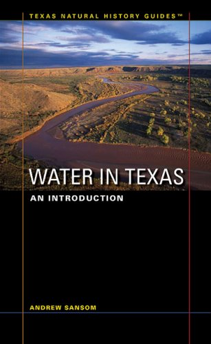Water in Texas An Introduction  2008 edition cover