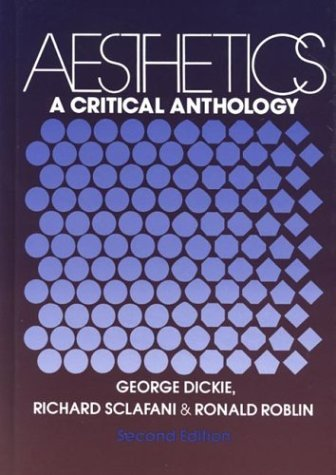 Aesthetics A Critical Anthology 2nd 9780312003098 Front Cover