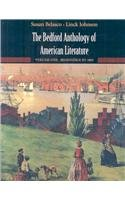 Bedford Anthology of American Literature V1 and V2   2008 9780312412098 Front Cover