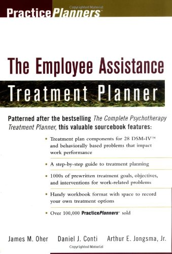 Employee Assistance Treatment Planner   1998 edition cover