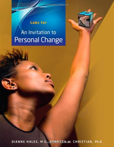Invitation to Personal Change   2009 9780495557098 Front Cover