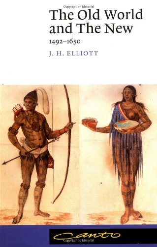 Old World and the New 1492-1650  1992 edition cover