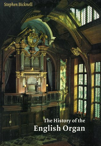 History of the English Organ   1996 9780521654098 Front Cover