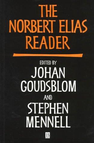 Norbert Elias Reader   1997 edition cover
