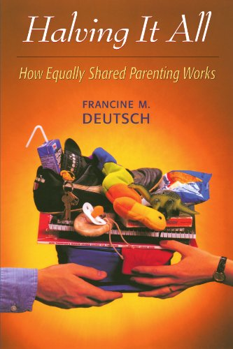 Halving It All How Equally Shared Parenting Works  1999 edition cover