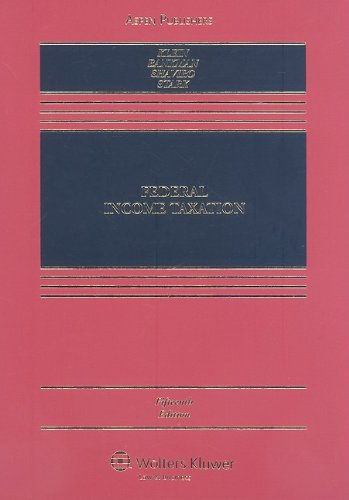 Federal Income Taxation  15th 2009 (Revised) edition cover
