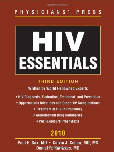 HIV Essentials 2010  3rd 2010 (Revised) 9780763777098 Front Cover