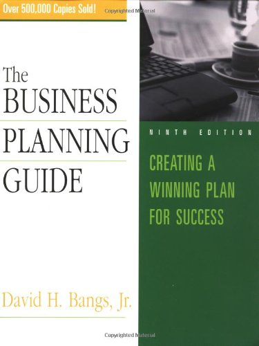 Business Planning Guide  9th 2002 (Revised) edition cover