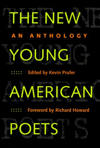 New Young American Poets An Anthology  2000 edition cover