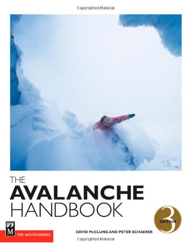 Avalanche Handbook  3rd 2006 (Revised) edition cover