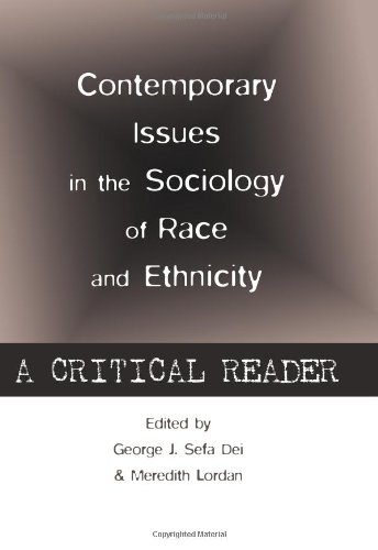 Contemporary Issues in the Sociology of Race and Ethnicity: A Critical Reader  2013 edition cover
