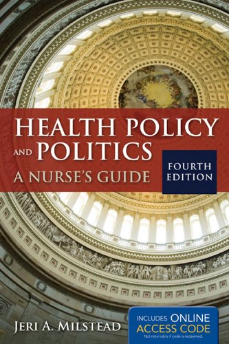 Health Policy and Politics  4th 2013 edition cover