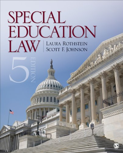 Special Education Law  5th 2014 edition cover