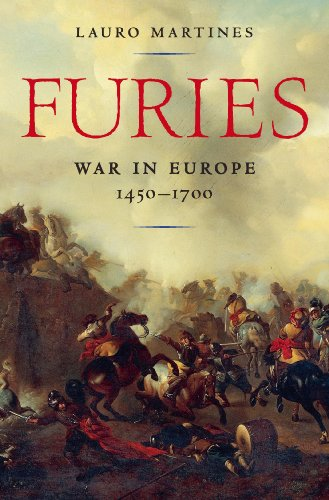 Furies War in Europe, 1450-1700  2013 edition cover