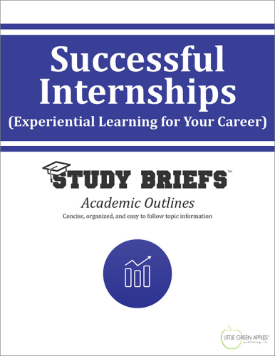 Successful Internships cover