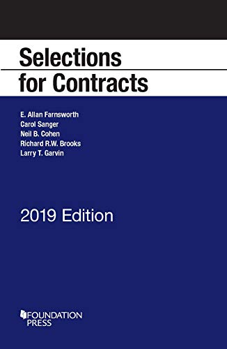 SELECTIONS FOR CONTRACTS 2020           N/A 9781684675098 Front Cover