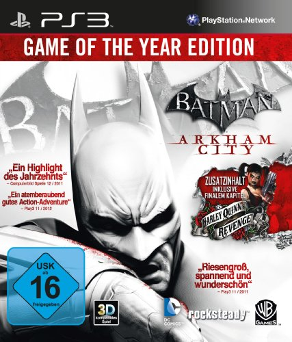 Batman: Arkham City - Game of the Year Edition PlayStation 3 artwork
