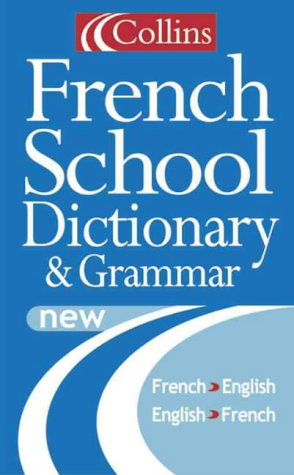 Collins French School Dictionary N/A edition cover