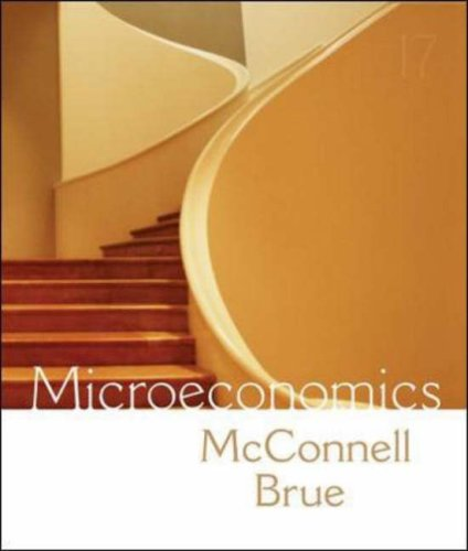 Microeconomics Principles, Problems, and Policies 17th 2008 (Revised) edition cover