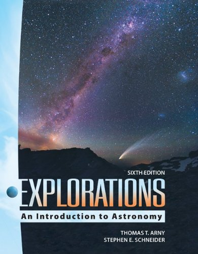 Explorations An Introduction to Astronomy 6th 2010 edition cover