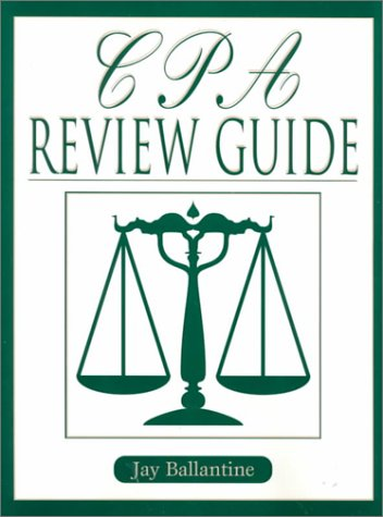 CPA Review Guide   2000 edition cover