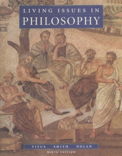 Living Issues in Philosophy  9th 1995 (Revised) edition cover