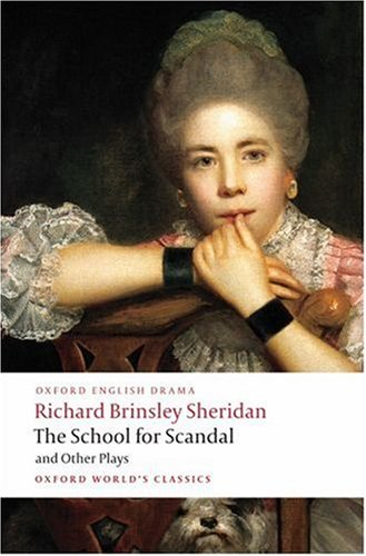 School for Scandal and Other Plays   2008 edition cover