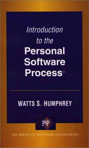 Introduction to the Personal Software Process   1997 edition cover