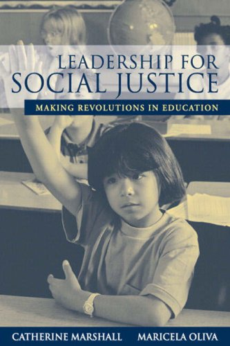 Leadership for Social Justice Making Revolutions in Education  2006 9780205412099 Front Cover